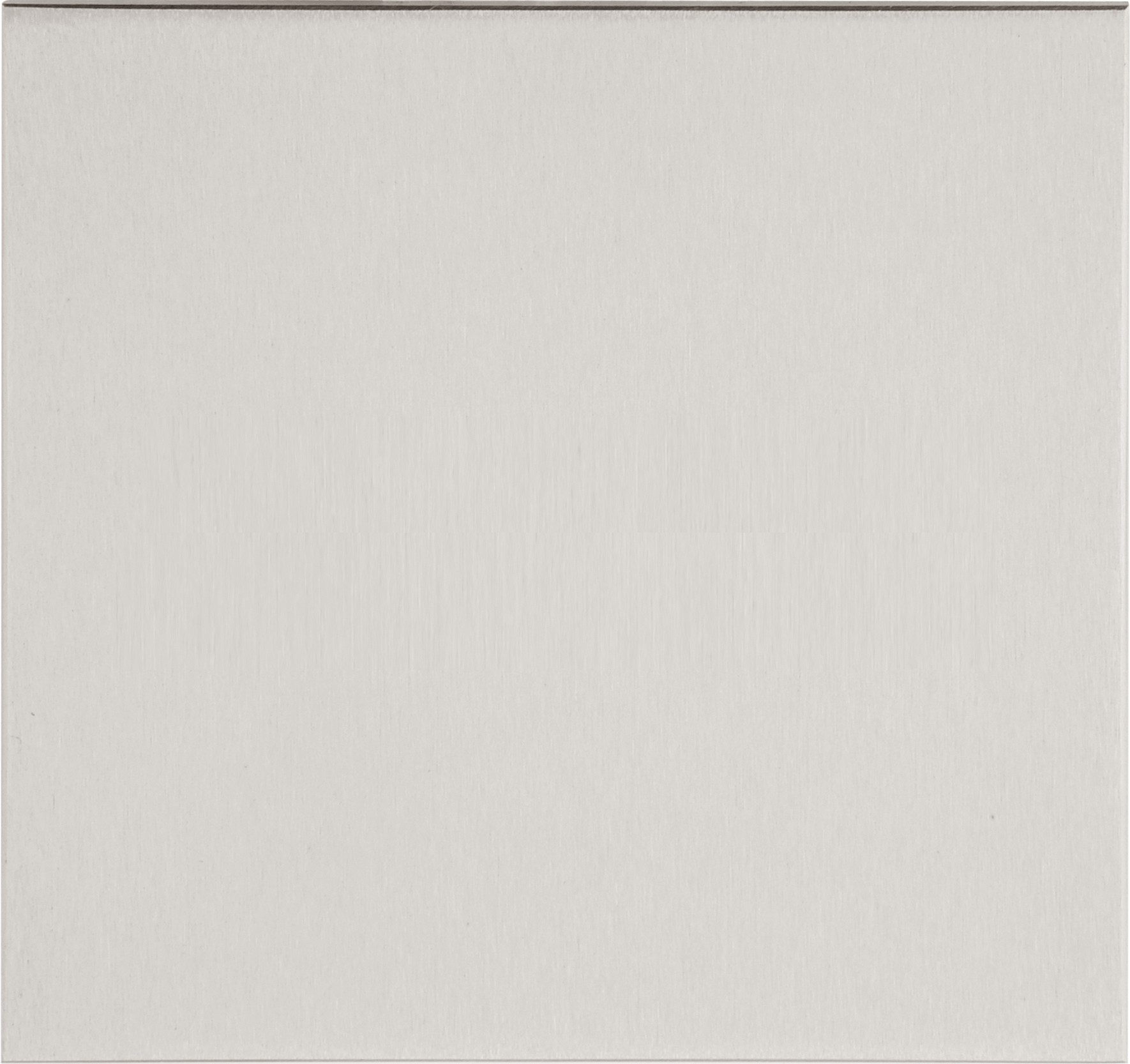 """SQUARE LSQP100A pictogram """"blanco"""" mat roestvast staal"""