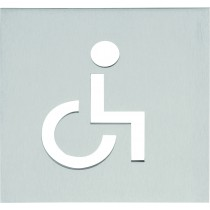 "SQUARE LSQP100K pictogram ""invalide"" mat roestvast staal"